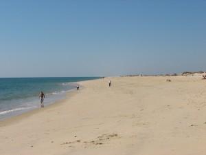 Stranden ved Tavira by