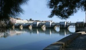 Den gamle romerske bro i Tavira